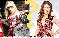 samma kläder och olika hollywood star!